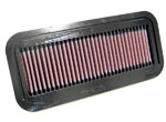 K&N Air Filter For Toyota Yaris 1.0l-i3(scp10) & 1.3l-i4(ncp10); 1999-2001 (non-us)