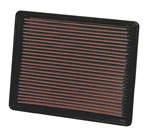 K&N Air Filter Factory Replacement For Chevy GMC Cadillac Escalade 6.0L 6.2L 6.6L 8.1L; 1999-2012
