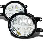 Spec-D Tuning Lexus Lx570 Led Fog Lights; 2008-2013