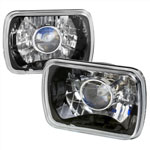 Spec-D 7 X6 projector Headlights - Black