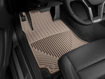 WeatherTech Front Rubber Mats Mercedes-Benz SLK350 - Tan; 2005-2011