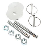 Hood Pin Kit - Torsion Clips 7/16