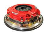 McLeod Challenger RXT Twin Disc Clutch Kit with Aluminum Flywheel 26-Spline; 2012-2020