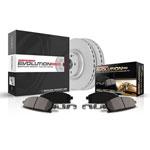Power Stop 13-18 Nissan Altima Front & Rear Z17 Evolution Geomet Coated Brake Kit; 2013-2018