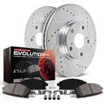 Power Stop 13-18 Nissan Altima Front & Rear Z23 Evolution Sport Brake Kit; 2013-2018