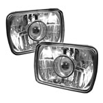 Spyder projector Headlights 4x6 - Chrome