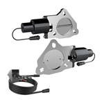 QTP QTEC 3in Electric Cutout Valves Kit - Pair; 1950-2019