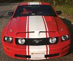 Trufiber Mustang GTS-3 Ram Air Hood Mustang V8; 2005-2009