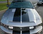 Trufiber Mustang GTS-4 Ram Air Hood Mustang V8; 2005-2009