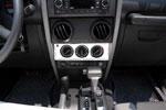 T-Rex Jeep Wrangler - T1 Series Interior Dash Trim - Climate Control Panel; 2007-2013