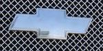 T-Rex Chevrolet Trailblazer LS - Billet Bowtie - w/Border - Polished; 2002-2009