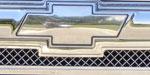 T-Rex Chevrolet Trailblazer LS - Billet Bowtie - Plain - Polished; 2002-2009
