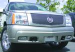 T-Rex Cadillac Escalade, EXT, ESV - Billet Grille Insert - w/o Logo Plate - OE Logo Mounts on Billet (27 Bars); 2002-2006