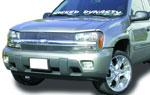 T-Rex Chevrolet Trailblazer LS - Billet Grille Insert - Flush Mount (10, 7 Bars); 2002-2009
