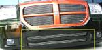 T-Rex Dodge Magnum (Except SRT) - Bumper Billet Grille Insert - 2 Pc; 2005-2007