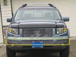 T-Rex Honda Ridgeline - Bumper Billet Grille Insert 3 Pc - Center & Sides; 2006-2008