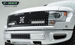 "T-Rex Ford Raptor F-150 SVT TORCH Series LED Light Grille 2 - 12"" LED Bars (For off-road use only); 2009-2013"