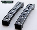 T-Rex Ford Raptor F-150 SVT - X-Metal Baja Bars (pr) - included in 6405661 - Black (fits X-Metal Grille P/N 6715661 ONLY); 2009-2013