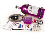 Zex Dry Nitrous System with Purple Bottle for Honda Civic; 1988-2000