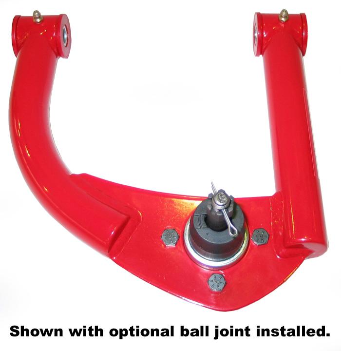 Spohn Performance 742-4130-MOOG - Spohn Upper A-Arms w/bushings 1993-02 Firebird Chrome Moly w/ball Joints V8 / V6