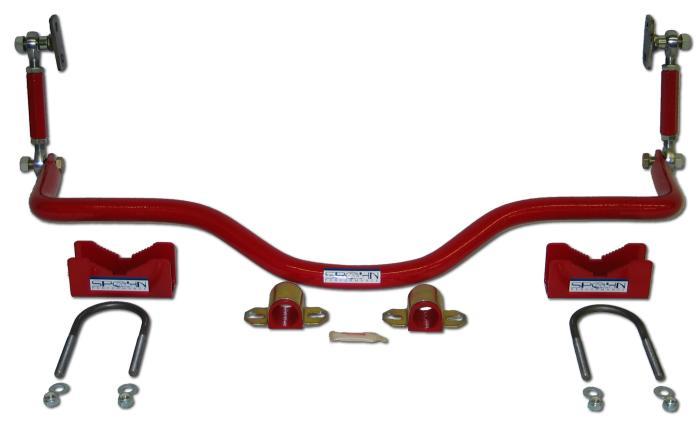 Spohn Performance 921 - Spohn Pro-Series Rear Drag Sway Bar 1993-02 Camaro V8
