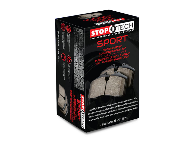 StopTech 309 01540 | Sport Brake Pads Oldsmobile Cutlass Supreme, Front