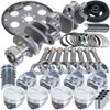 Eagle b13404l04053 | Chevrolet 350 Balanced Rotating Assembly Kit w/ 4.040 Bore +12.00cc Dome 153 Tooth Flexplate Alternate Image 3