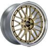 BBS LM250GPK | LM 19x9 5x112 ET42 Gold Center Diamond Cut Lip Wheel -82mm PFS/Clip Required Alternate Image 1