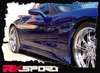 RKSport (16012000)  4 Piece Ground Effects Package for Corvette C6 2005-Up Alternate Image 1