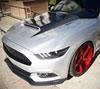 RKSport 18016101 | Mustang Mustang Carbon Fiber Front Splitter; 2015-2017 Alternate Image 1