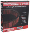 Spectre hpr0136   1985 Cadillac Seville 5.7L V8 DSL Air Filter 14in. X 3in. - Red; 1985-1985 Alternate Image 7