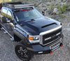 RKSport 35016050 |  GMC Sierra HD Ram Air Hood; 2015-2017 Alternate Image 1