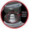 Air Lift 88349 | Loadlifter 5000 Ultimate w/Internal Jounce Bumper for 15-16 Ford F-450 Super Duty; 2015-2016 Alternate Image 1
