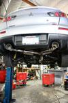 MXP mxcrcz4a   08-14 Mitsubishi Evolution 10 SUS401 Comp RS Exhaust System; 2008-2014 Alternate Image 1