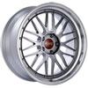 BBS LM225DBPK | LM 20x9 5x120 ET15 Diamond Black Center Diamond Cut Lip Wheel -82mm PFS/Clip Required Alternate Image 1