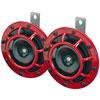Hella 3399801   Supertone Horn Kit 12V 300/500HZ Red (003399803 = 003399801) Alternate Image 1