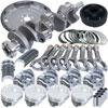 Eagle b16422ea040 | Ford 302 V-Rib Belts 157 Tooth Flexplate Balanced Rotating Assembly 5.400in I-Beam +.040 Bore Alternate Image 3