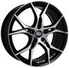 Enkei 517-880-8045bkm | Vulcan 18X8.0 45mm Offset 5x100 Bolt 72.6mm Bore Black Machined Wheel Alternate Image 1