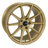 Enkei 499-780-8045gg   TS10 17x8 5x100 45mm Offset 72.6mm Bore Gold Wheel Alternate Image 1