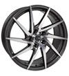 Enkei 500-880-6550gmm | PW10 18x8 5x114.3 50mm Offset 72.6mm Bore Gunmetal Wheel w/ Machined Spokes Wheel Alternate Image 1