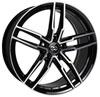 Enkei 511-775-8045bkm | SS05 17x7.5 5x100 45mm Offset 72.6mm Bore Black Machined Wheel Alternate Image 1