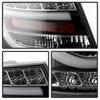 Spyder 5079602 |  Audi A6 4Dr Sedan Only (non-Quattro) Light Bar LED Tail Lights - Incandescent Model Only - Black - (ALT-YD-AA605-LBLED-BK); 2005-2008 Alternate Image 2