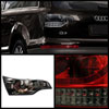 Spyder 5000279 |  Audi Q7 LED Tail Lights - Black - (ALT-YD-AQ707-LED-BK); 2007-2009 Alternate Image 1