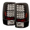 Spyder CHEVROLET SUBURBAN / TAHOE & 00-06 GMC YUKON / DENALI 00-06 Led Tail Lights - Black  - (ALT-YD-CD00-LED-BK)