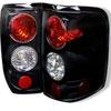 Spyder Ford F150 Styleside (Not Fit Heritage & SVT) Altezza Tail Lights - Black - (ALT-YD-FF15004-BK); 2004-2008