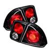 Spyder Honda Civic 4Dr Altezza Tail Lights - Black - (ALT-YD-HC01-4D-BK); 2001-2005