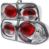 Spyder Honda Civic 96-98 4Dr Altezza Tail Lights - Chrome