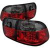 Spyder Honda Civic 96-98 4Dr LED Tail Lights - Red Smoke