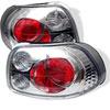Spyder Honda Del Sol 93-97 Altezza Tail Lights - Chrome