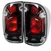 Spyder Toyota Tacoma Tail Lights - Black - (ALT-YD-TT01-BK); 2001-2004